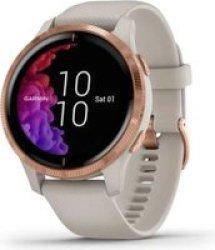 Garmin Venu Smartwatch Light Sand rose Gold