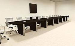 Modern Boat Shaped 30' Feet Conference Table OF-CON-CP55
