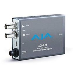 Aja 3G-AM 3G-SDI 8-CHANNEL Aes Embedder disembedder Bnc MINI Converter