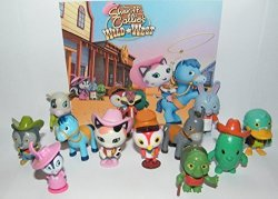 Party Favors Inc Disney Sheriff Callie's Wild West Deluxe Party Favors Goody Bag Fillers Set Of 13 Figures With Sheriff Callie Deputy Peck Sparky The Blue Horse
