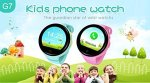 Ameter G7 Gps Tracker Kids Smartwatch 2G Network Only Anti-lost Sos Navigation Social Children Watch Phone With Wifi Blue