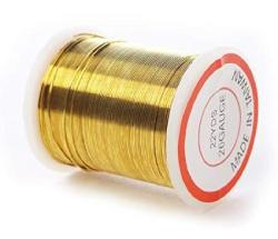 26 Gauge Gold Bead Crafting Wire For Jewelry Making Crafting Creating- 4 Spools Of 22 Yards For 88 Total Yards