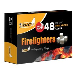 BIC - Firelighters 48S Value Pack