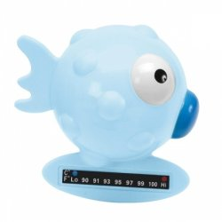 Chicco - Bath Thermometer Globe Fish