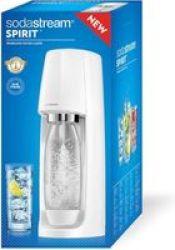 Sodastream Spirit Sparkling Water Maker Machine White