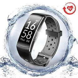 Lngoor Fitness Tracker Watch Activity Tracker Watch - Fitness Watch IP68 Waterproof Step Calorie Counter Pedometer Watch For Yoga Running Cycling