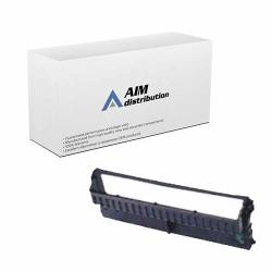 Aim Compatible Replacement For Olivetti PR-4 Black Printer Ribbons 6 PK B0275J - Generic