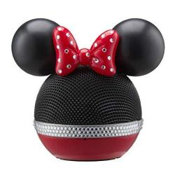 EWarehouse Disney Minnie Mouse Wireless Rechargeable Bluetooth Speaker With Voice Activation Works With Siri And Google Now