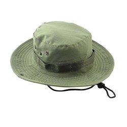 c2277f6a Fishing Sun Boonie Hat Waterproof Summer Uv Protection Safari Cap Outdoor  Hunting Hat Green