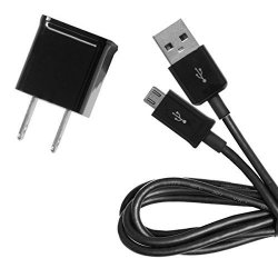 Accessory For BlackBerry Genuine 1A Blackberry Z30 Smartphone Compact Wall  Charger With Detachable High Power Microusb 2 0 Data Sync Cable Black