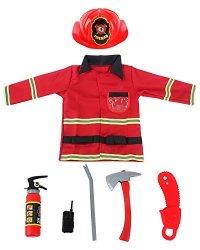 YOLSUN Ninja Costume Set,Kids Role Play,Pretend Play Dress