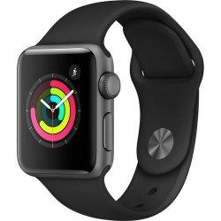 Apple Series 3 Smart Watch 42mm in Space Grey & Black