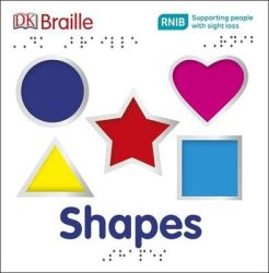 Dk Braille Shapes Board Book Braille Edition