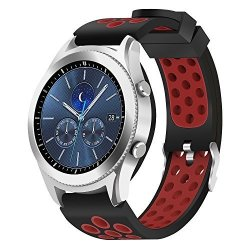 Hagibis Samsung Gear S3 Frontier Classic Watch Band 22MM Solid Stainless Steel Metal Business Replacement Silicon Bands For Samsung Gear S3 Frontier And