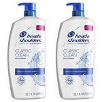 Head And Shoulders Shampoo And Conditioner 2 In 1 Anti Dandruff Green Apple 32.1 Fl Oz Twin Pack
