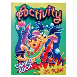No Brand Dot To Dot Activity Book BKK549 550
