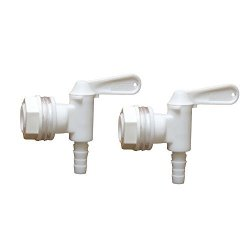 TOMMUR INDUSTRY CO.,LTD 2 Pack Bottling Bucket Plastic Spigot Replacement Spigot For Beer Or Soda Homebrewing