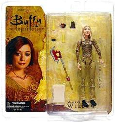 """Buffy The Vampire Slayer Action Figure """"chosen"""" White Witch Willow"""