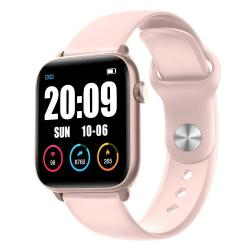 KW37 Pro 1.3 Inch Color Screen Smart Watch IP68 Waterproof Support Temperature Detection heart Rate Monitoring sleep Monitoring blood Pressure Monitoring blood Oxygen Monitoring Pink