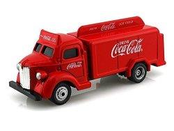 Volkswagen 1947 Coca Cola Bottle Truck Camion Transporteur De Bouteilles 1 87 Red