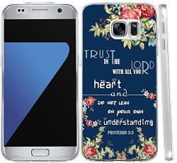 Hungo S7 Case Bible Verses Soft Tpu Silicone Protective Cover Replacement  Compatible Cover For Samsung Galaxy S7 Proverbs 3:5 Ch | R420 00 |  Cellphone