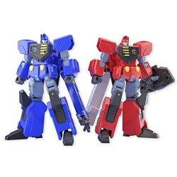 Japan Import Super Minipura Gaogaigar 3 Super Dragon 2 Pieces Candy Toys & Gum Gaogaigar King Brave