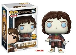 """Funko Pop Movies Lord Of The Rings Frodo Baggins 3.75"""" Chase Variant Vinyl Figure"""