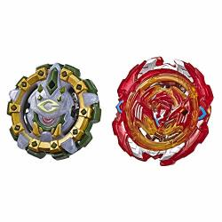 Hasbro Beyblade Burst Turbo Slingshock Dual Pack Phoenix P4 And Cyclops C4 2 Right-spin Battling Tops Age 8+