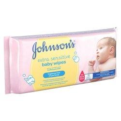 Johnsons Baby - Extra Sensitive Baby Wipes 72S