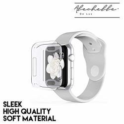 Alechelle De Lux Apple Watch Screen Protector For Series 5 4 3 2 1 All-around Screen Protector 38MM 40MM 42MM 44MM 44MM