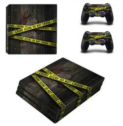 Skin-nit Decal Skin For PS4 Pro: Crime Scene