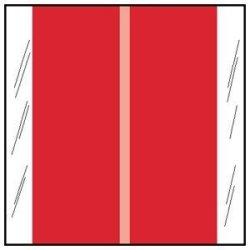 Tabbies Chart Label Tab Red 1-1 2 Inch - 500 Label Per Roll