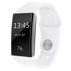Classic Silicone Band For Fitbit Charge 3 Size: S m