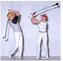 USA Preiser 45040 Golfers Package 2 G Model Figure