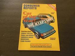 Consumer Reports Jul 1978 Omni Horizon Cars Of The Year No Seriously
