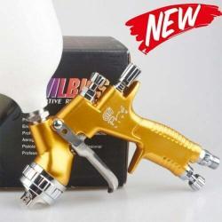 Professional GTI Pro Lite Golden Painting Gun TE201.3MM Nozzle Spray Gun Paint Gun Water Based Air Spray Gun
