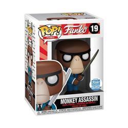 Funko Fantastik Plastik - Monkey Assassin Pop Limited Edition Vinyl Figurine 19