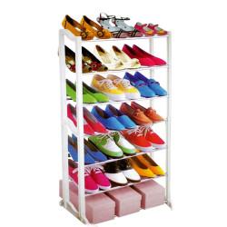 Shoe Racks 7 Tier White