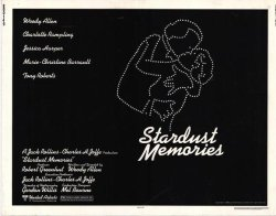 Stardust Memories Poster Movie 22 X 28 Inches - 56CM X 72CM 1980 Half Sheet Style A