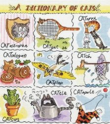 Bothy Threads Cross Stitch - - A Dictionary Of Cats