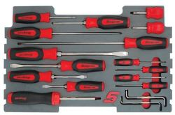 17PC Screwdriver Set For Kmc All Weather Top Chest