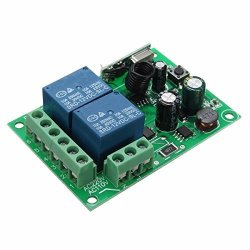 Quickbuying 315MHZ 2 Ch Wireless Relay Rf Remote Control Switch Transmitter  Dc 12V 220V 10A Heterodyne Receiver Integrated Circu | R895 00 | Handheld