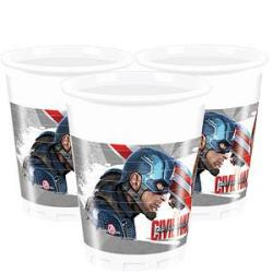 Cups Captain America Civil War Party Supplies R Party