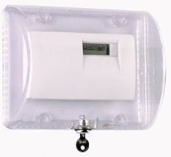 Safety Technology Intl Safety Technology International Inc. STI-9110 Thermostat Protector With Key Lock - Clear Polycarbonate Enclosure