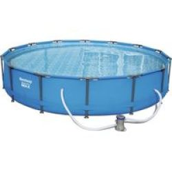 Bestway 4.27M X 84CM Steel Pro Max Frame Pool Set