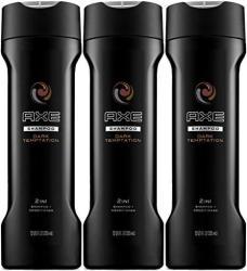 Axe Dark Temptation 2 In 1 Shampoo + Conditioner 12 Oz Pack Of 3
