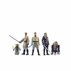 Star Wars Celebrate The Saga Toys Jedi Order Action Figure Set 3.75-INCH-SCALE Collectible Figures 5-PACK Toys For Kids Ages 4 And Up