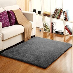 Livebox Gy Rugs Soft Microfiber Non Slip Rubber Back Floor Mat Washable Deep Pile Rug Comfortable Luxurious Contemporary Are