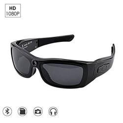 c7c89f9e5a CAMAKT Bluetooth Sunglasses Camera Full HD 1080P Digital Camera Video  Recording Polarized Glasses For Sport