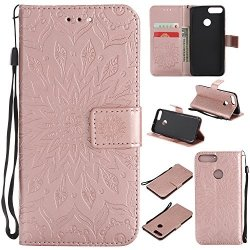 pretty nice 0c4f4 e71bf Lomogo Huawei P Smart Case Leather Wallet Case With Kickstand Card Holder  Shockproof Flip Case Cover For Huawei P Smart - LOKTU2 | R660.00 |  Cellphone ...